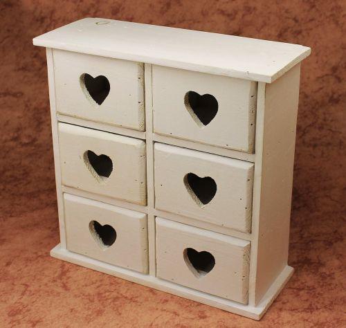 minikommode kommode mit 6 schubladen 12235 regal 28cm. Black Bedroom Furniture Sets. Home Design Ideas