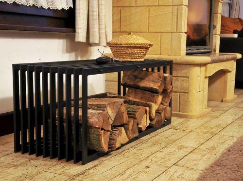 Brilliant Firewood Rack Bench D Stil 100Cm Shelf For Firewood Basket For Firewood Firewood Holder Dailytribune Chair Design For Home Dailytribuneorg