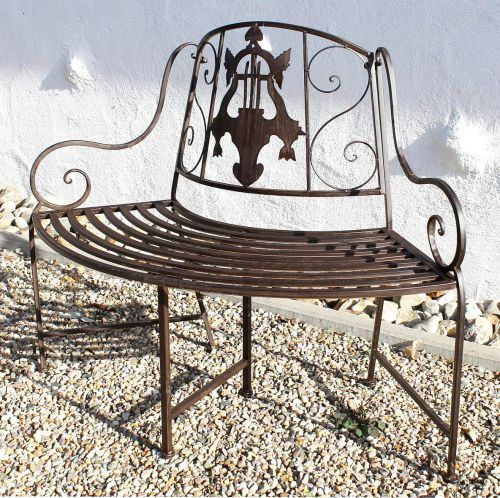 Admirable Bench Jd130838 Made From Metal Garden Bench Seat Tree Bench 2 Seater 116Cm Round Bench Evergreenethics Interior Chair Design Evergreenethicsorg