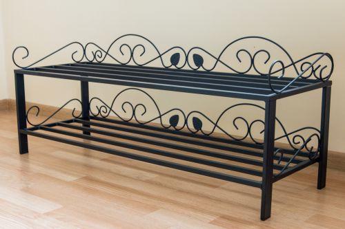 schuhregal mi 2 regal 92cm schuhschrank 21236 schuhablage. Black Bedroom Furniture Sets. Home Design Ideas
