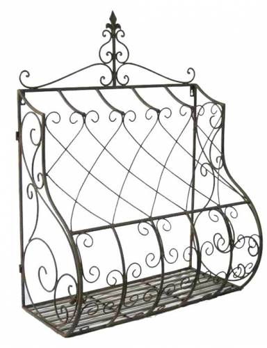 blumenregal wandblumenhalter listella 012196 blumenst nder. Black Bedroom Furniture Sets. Home Design Ideas
