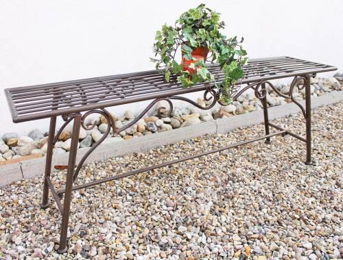 Excellent Bench Seat Cucciu Xl B 120Cm 077824 Garden Bench Made From Metal Garden Furniture Theyellowbook Wood Chair Design Ideas Theyellowbookinfo