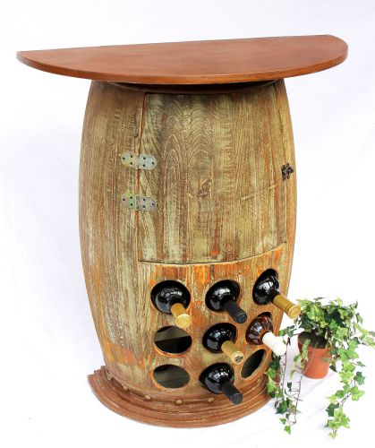 Tisch Weinfass Holz.Wandtisch Tisch Weinfass Nr 1500 Schrank Weinregal Fass Aus Holz