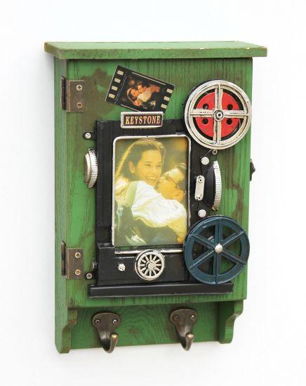schl sselkasten mit bilderrahmen 23630 gr n. Black Bedroom Furniture Sets. Home Design Ideas