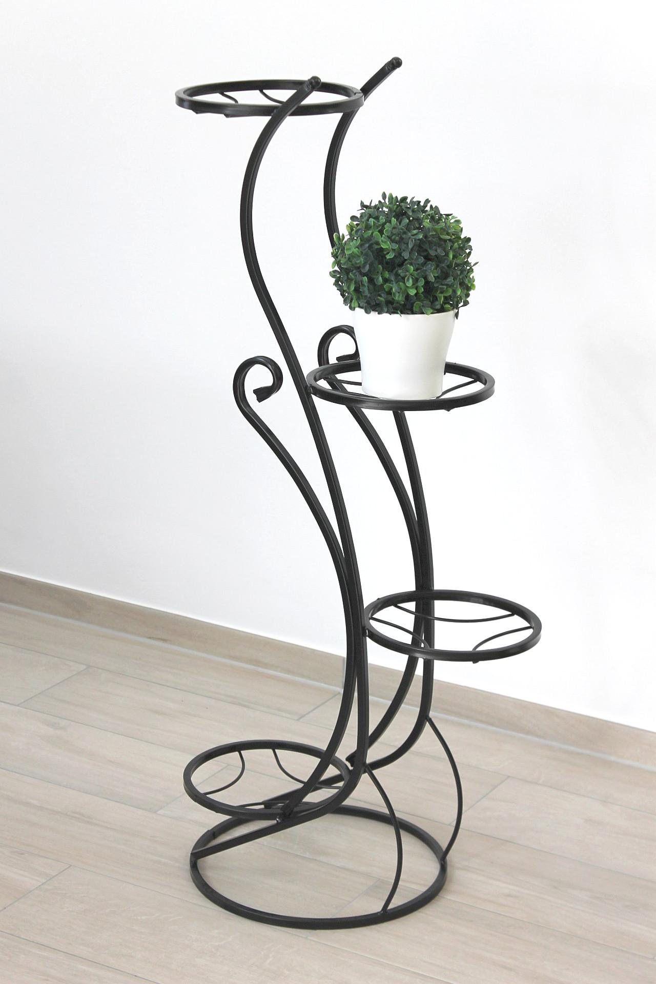blumenst nder blumens ule sehr stabil und dekorativ aus metall geschmiedet und aufw ndig. Black Bedroom Furniture Sets. Home Design Ideas