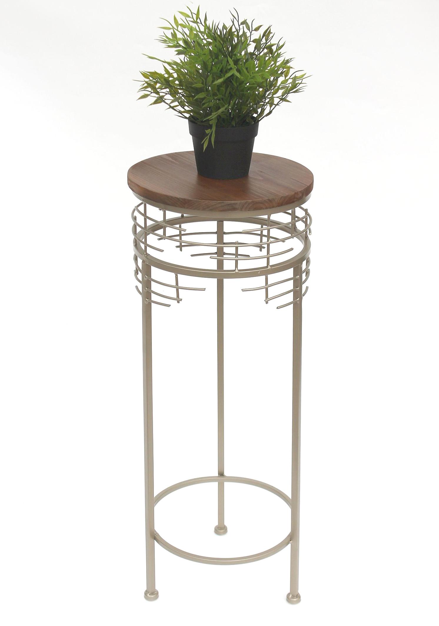 blumenhocker metall 21288 m blumenst nder 68 cm rund. Black Bedroom Furniture Sets. Home Design Ideas