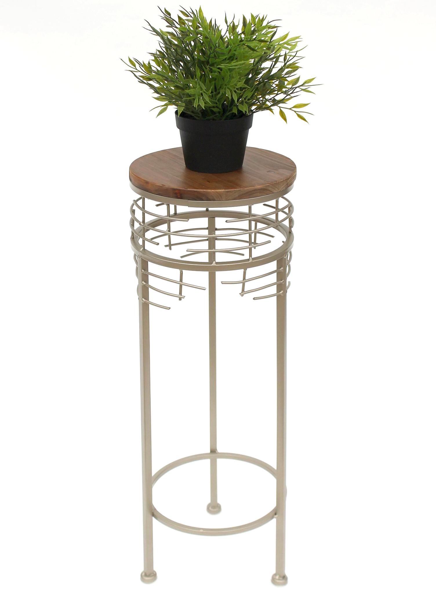 blumenhocker metall 21288 s blumenst nder 63 cm rund. Black Bedroom Furniture Sets. Home Design Ideas