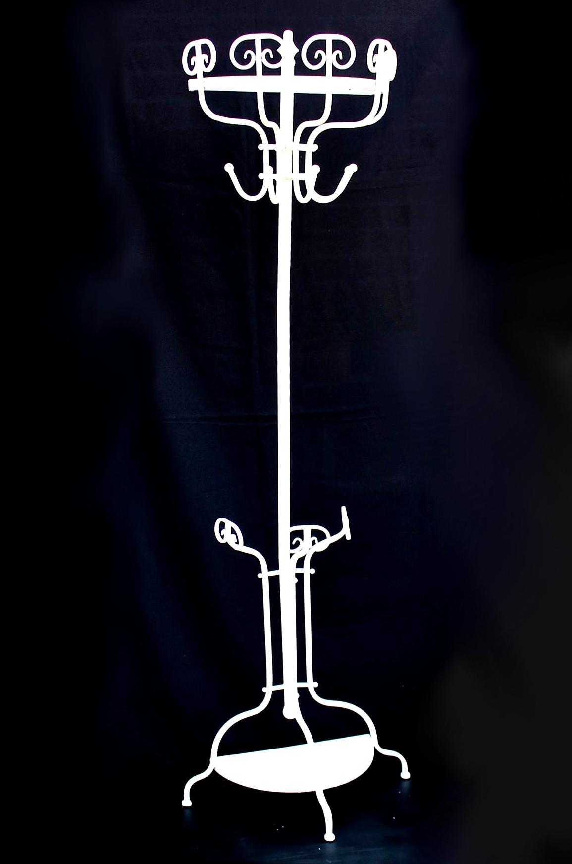 Garderobe halbrund 95306 wandgarderobe 175 cm wei for Garderobe halbrund