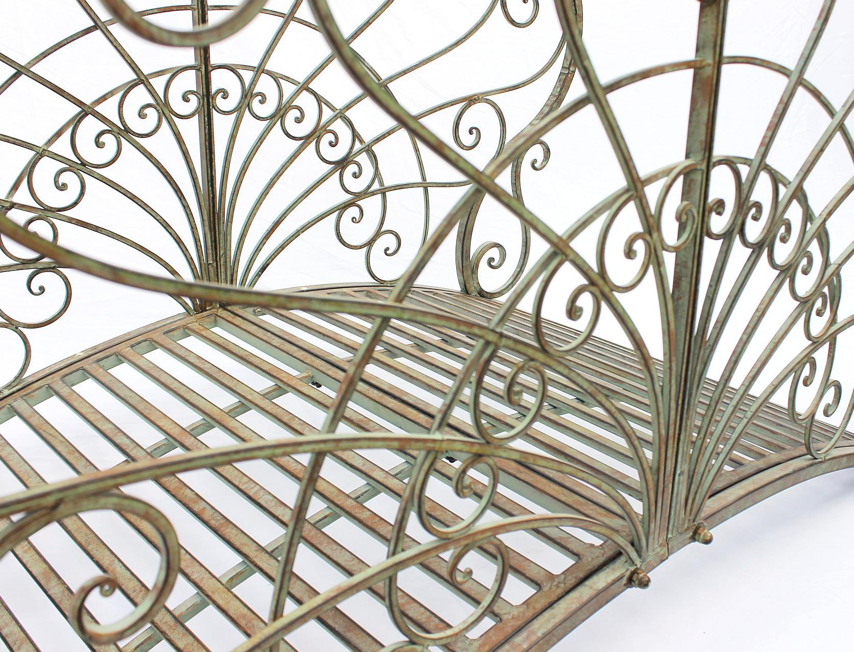 gartenbr cke teichbr cke aus metall geschmiedet und sehr stabil mit hochwertigen lackfarben. Black Bedroom Furniture Sets. Home Design Ideas