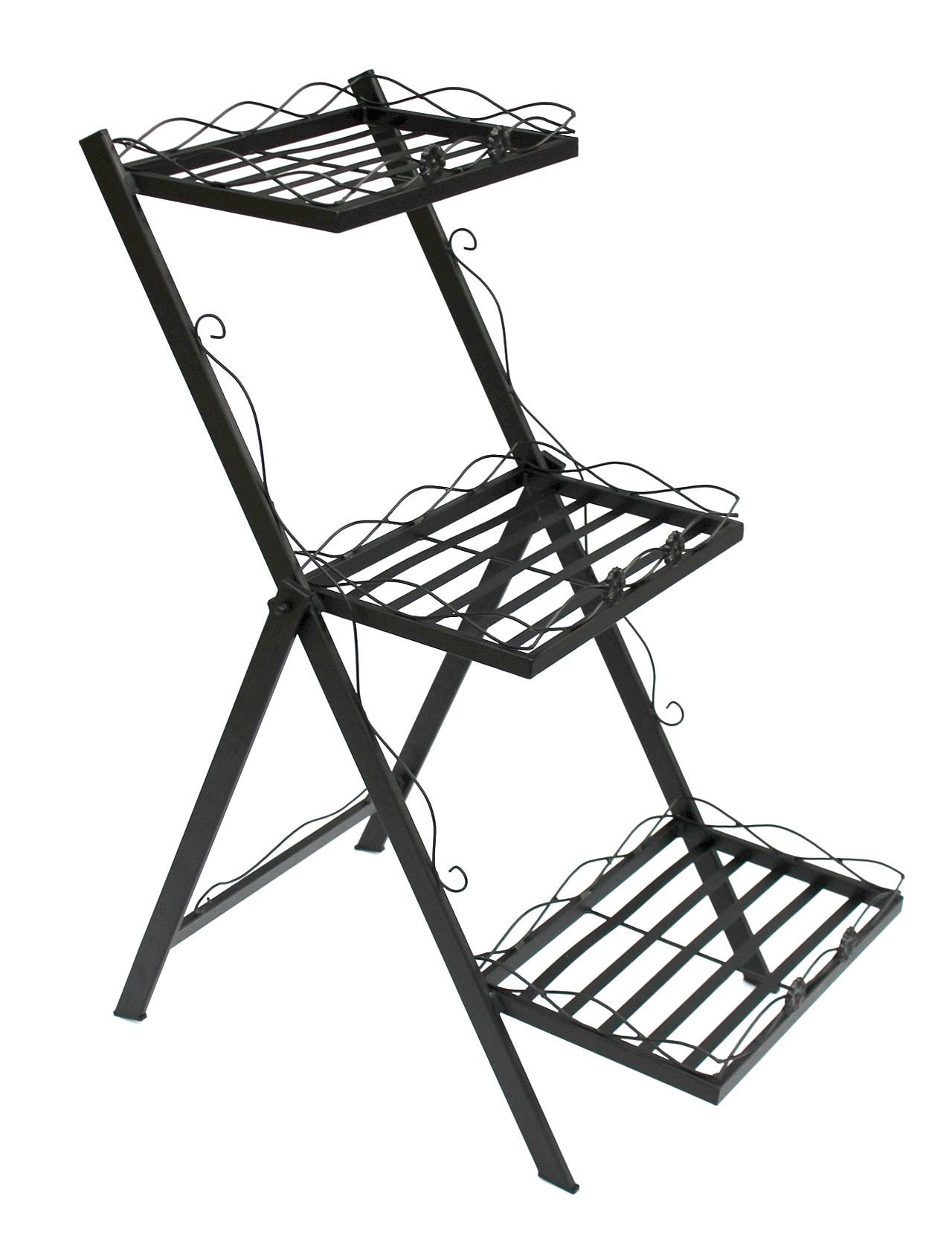 kr uterregal blumentreppe fiorina klappbar und sehr. Black Bedroom Furniture Sets. Home Design Ideas