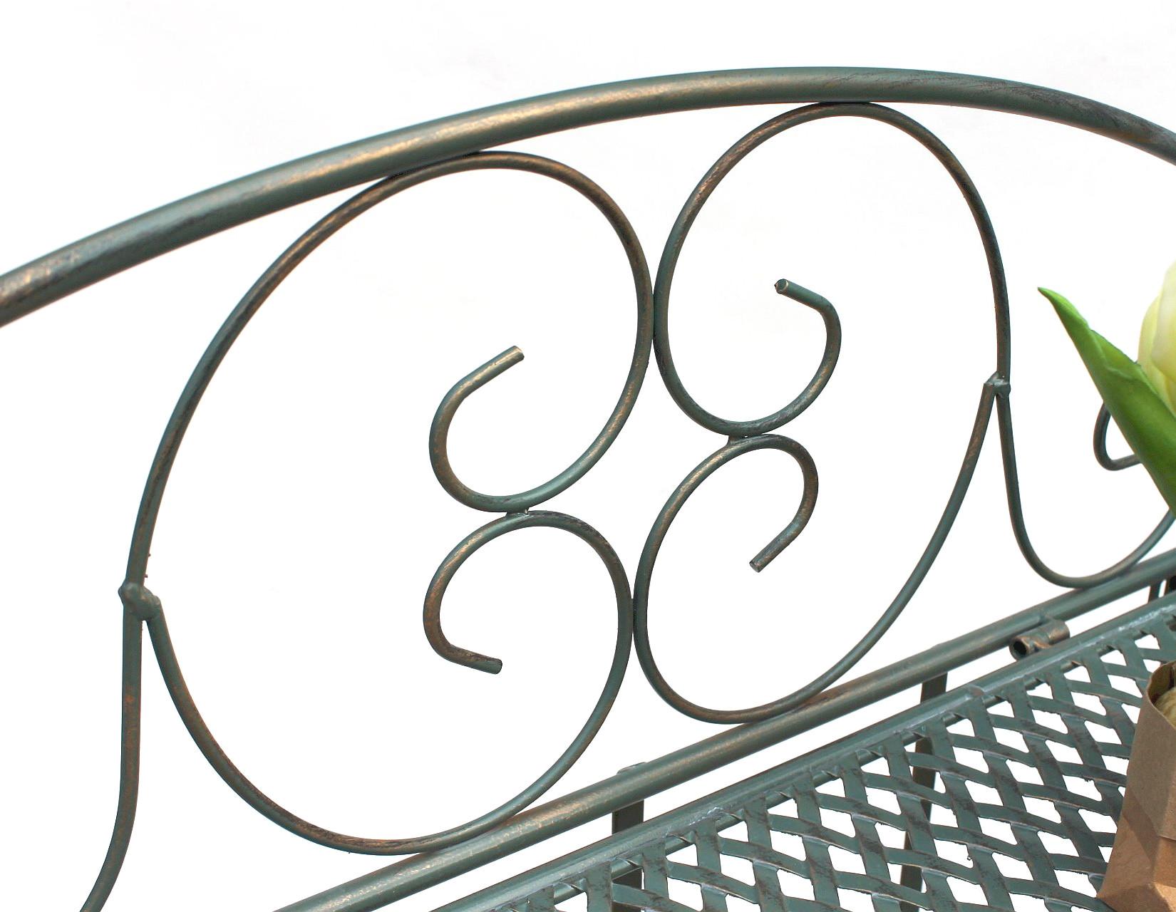 Metallregal Vintage Küche Landhausstil 19151 Regal Metall