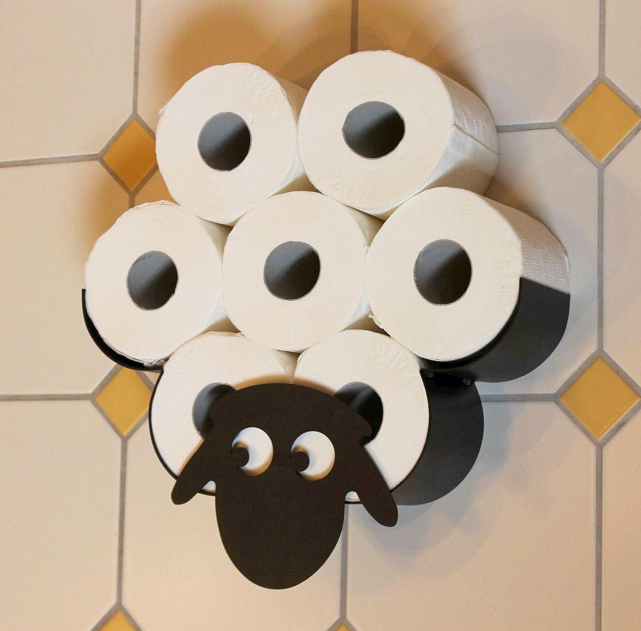 Toilettenpapierhalter schaf