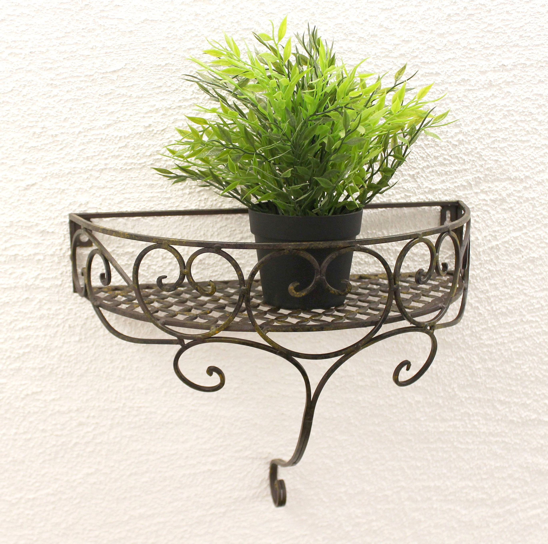 Blumenregal Aus Metall : wandkonsole aus metall 38 cm wandregal 95310 s blumenregal ~ Yuntae.com Dekorationen Ideen