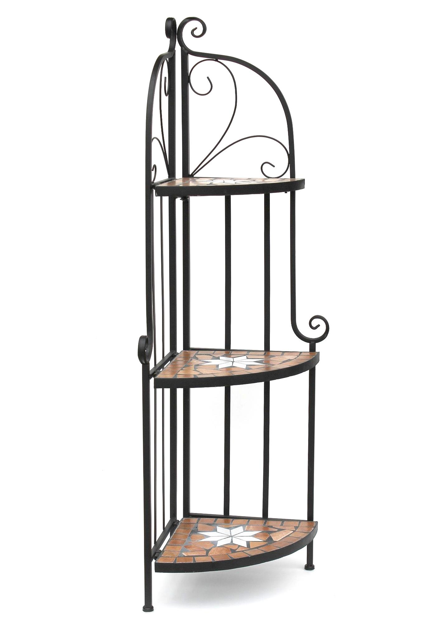 metall eckregal beautiful metall balkon eckregal wandboard standregal ablage eckschrank grau. Black Bedroom Furniture Sets. Home Design Ideas