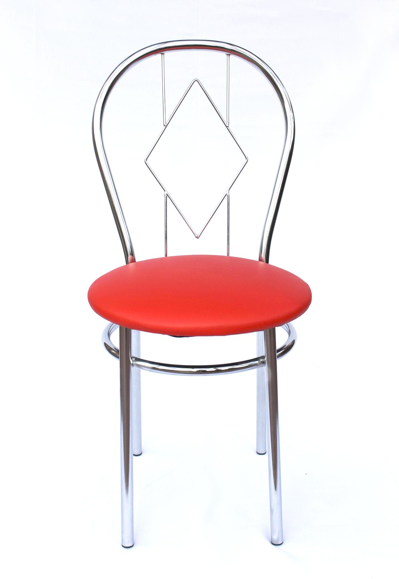 stuhl aus metall bistrostuhl karo 88cm verchromt st hle dandibo. Black Bedroom Furniture Sets. Home Design Ideas