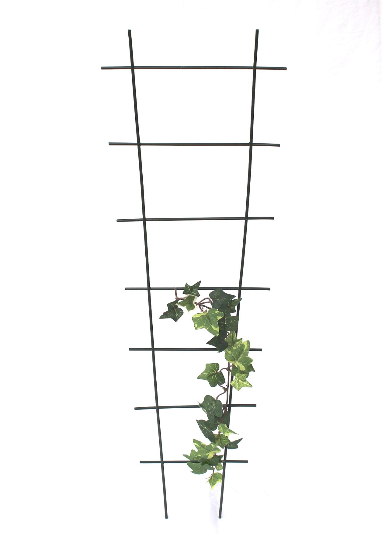 rankhilfe rankgitter art.307 kletterhilfe aus metall 65cm grün