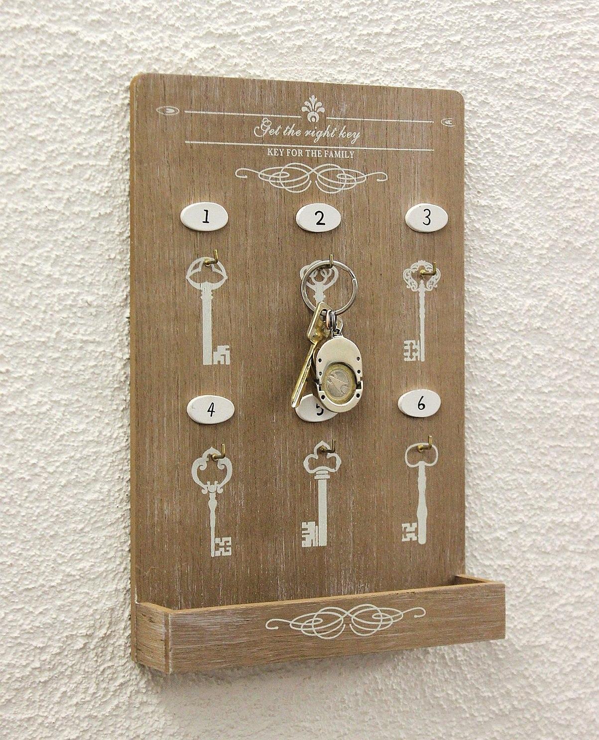 schl sselboard mit ablage 18238 schl sselkasten memoboard 30cm schl sselleiste dandibo. Black Bedroom Furniture Sets. Home Design Ideas