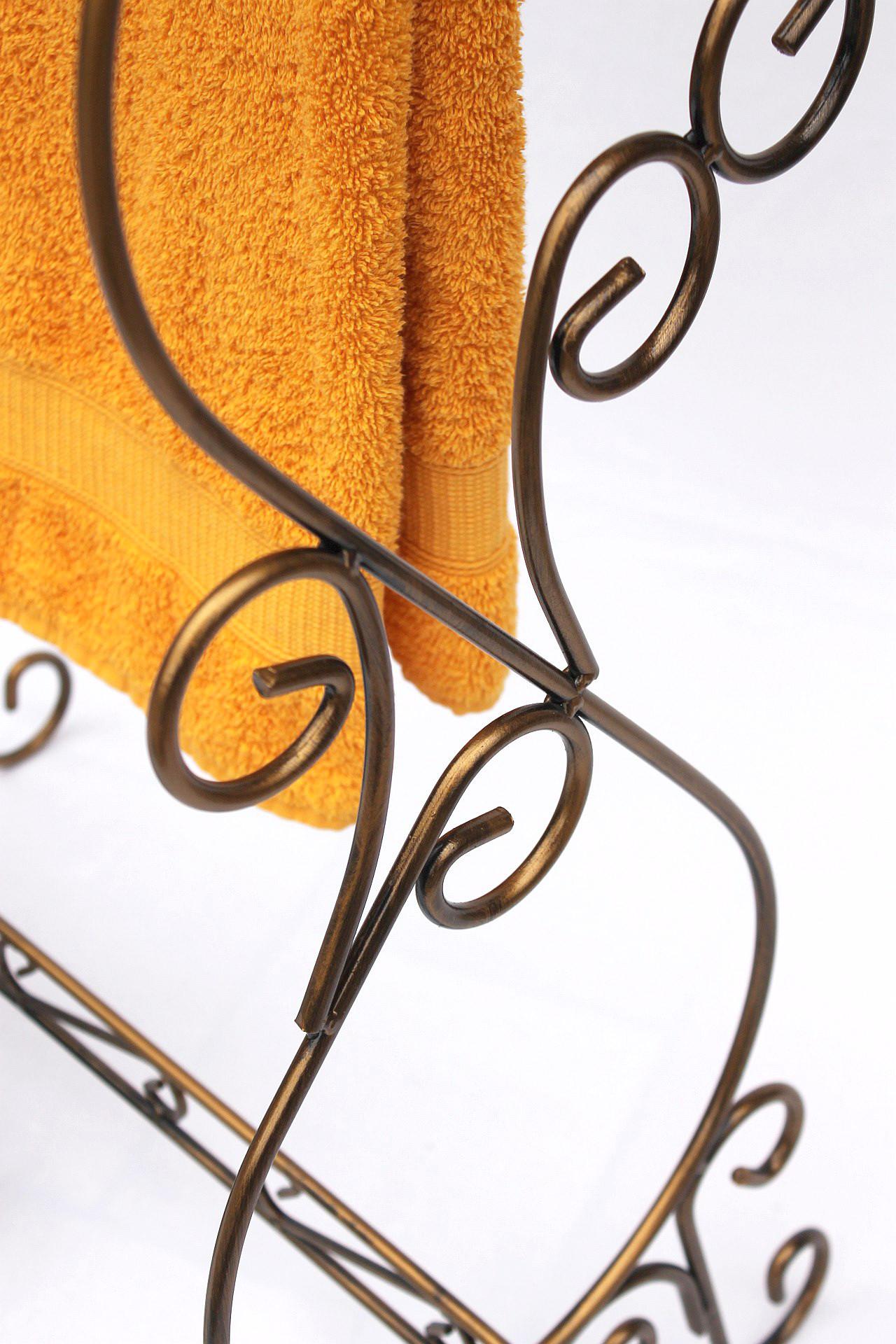 Handtuchst nder handtuchhalter im landhausstil for Handtuchhalter landhausstil