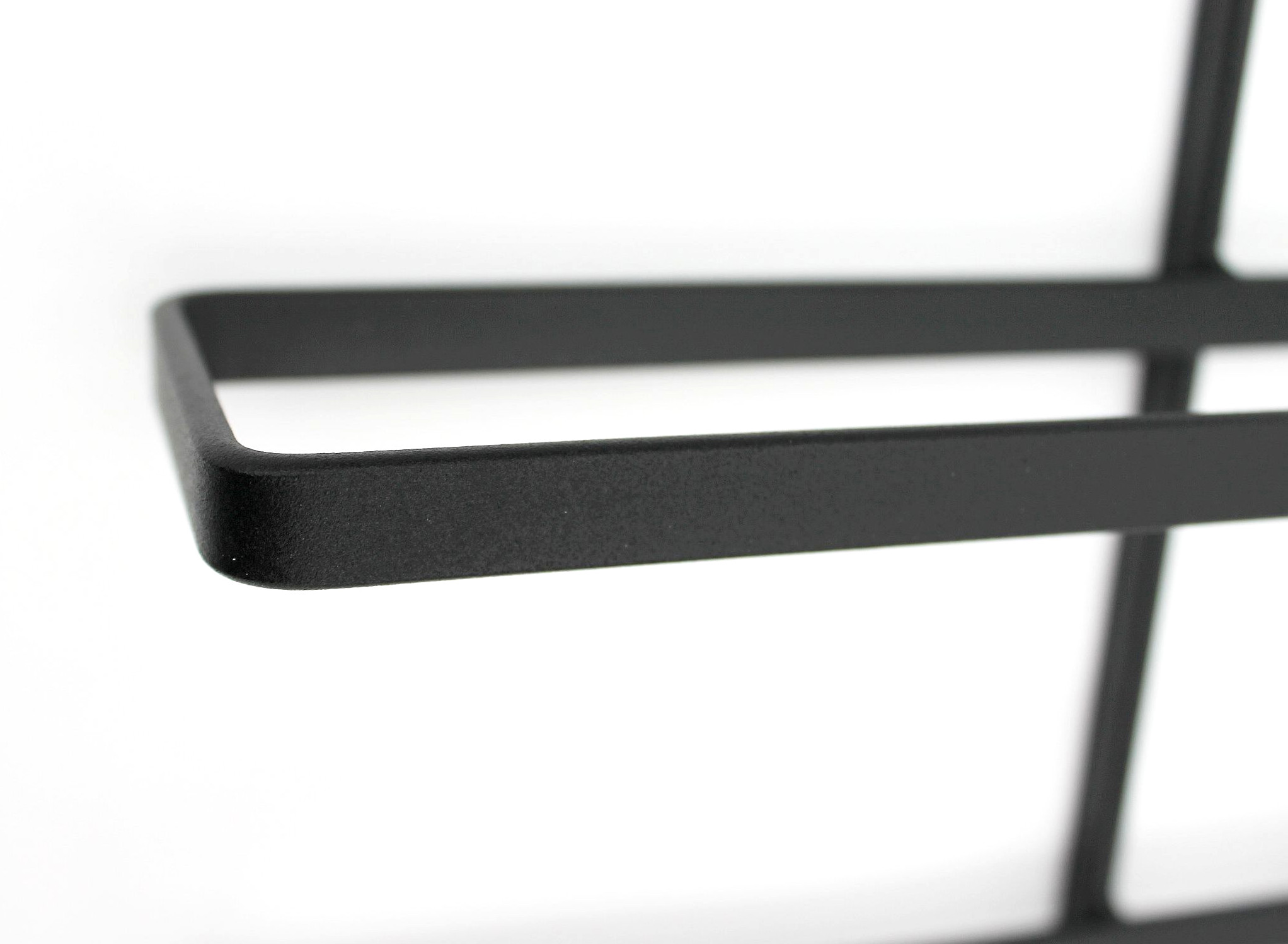 weinregal dies 116 cm aus metall f r 10 flaschen. Black Bedroom Furniture Sets. Home Design Ideas