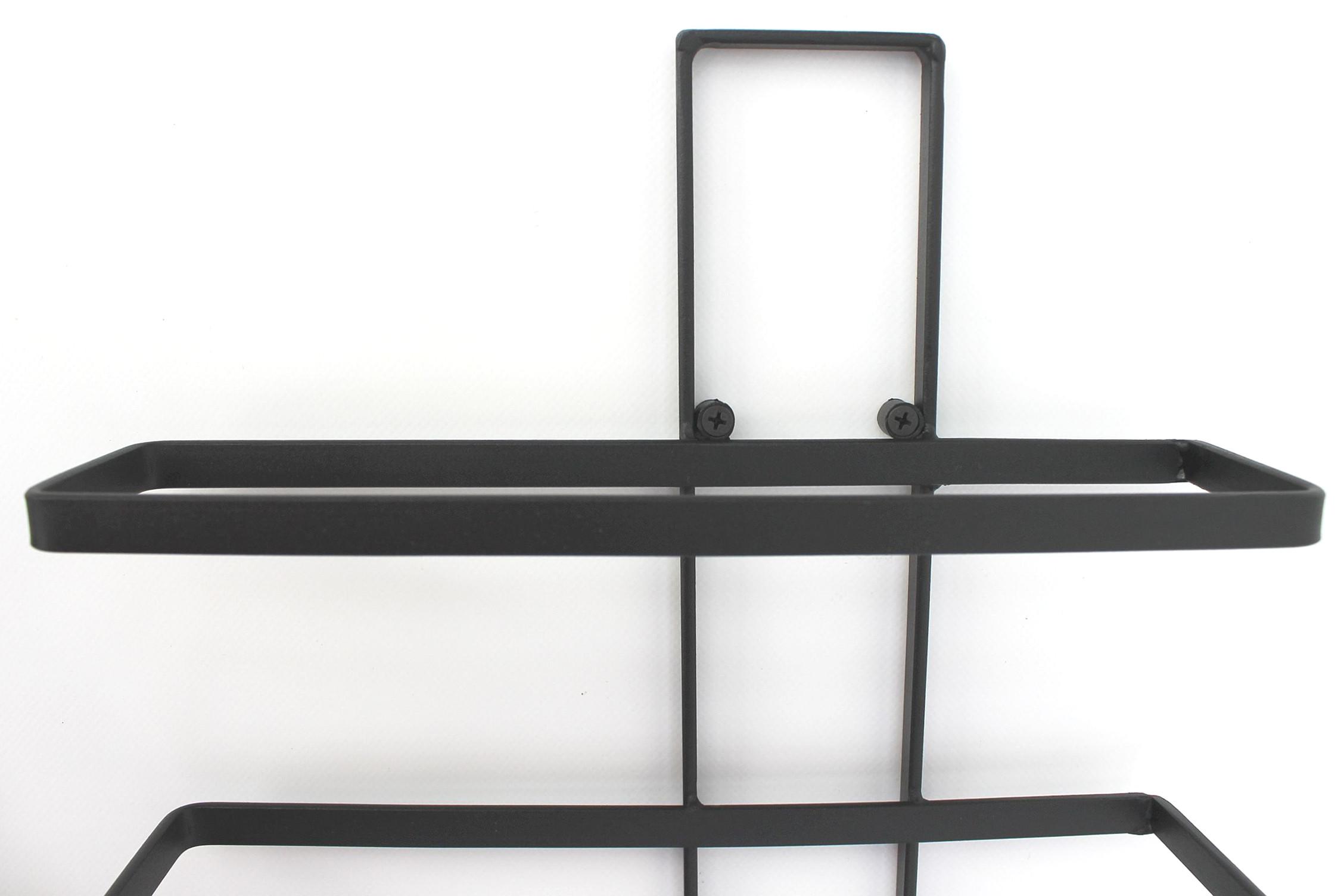 weinregal dies 116 cm aus metall f r 10 flaschen flaschenst nde f r die wand dandibo. Black Bedroom Furniture Sets. Home Design Ideas