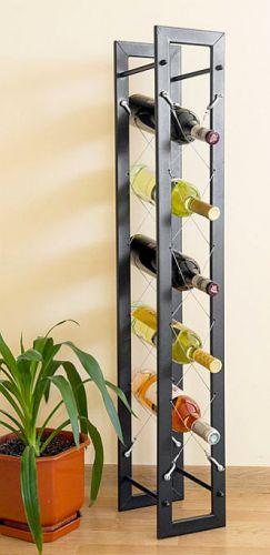 designer weinregal pit 100cm aus metall flaschenst nder flaschenhalter bar dandibo. Black Bedroom Furniture Sets. Home Design Ideas