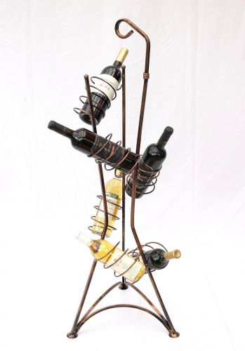 weinregal flaschenregal 112cm flaschenhalter. Black Bedroom Furniture Sets. Home Design Ideas