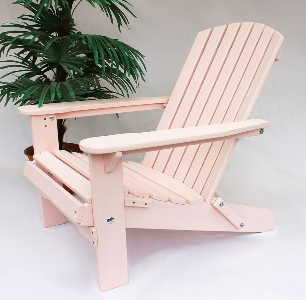 dandibo strandstuhl sonnenstuhl aus holz rosa gartenstuhl klappbar adirondack chair deckchair. Black Bedroom Furniture Sets. Home Design Ideas