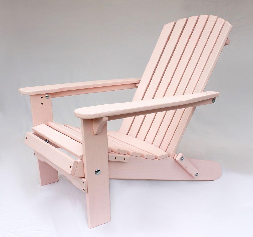 dandibo strandstuhl sonnenstuhl aus holz rosa gartenstuhl klappbar adirondack chair deckchair. Black Bedroom Furniture Sets. Home Design Ideas