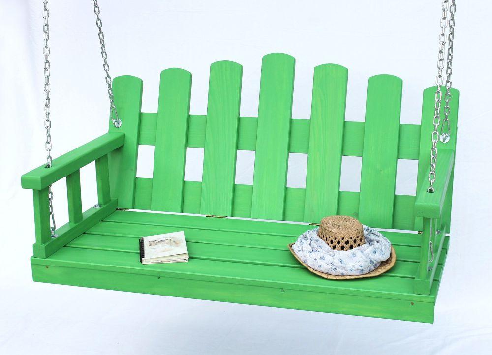 romantische schaukel h ngebank aus holz wundersch ne gartendekoration mit hochwertigen. Black Bedroom Furniture Sets. Home Design Ideas