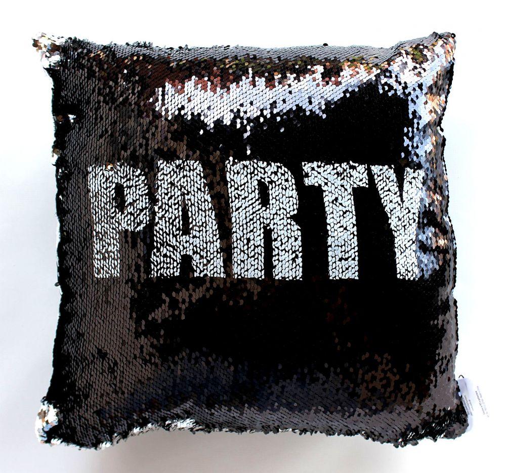 pailletten kissen relax party glitzer mit f llung 40x40 cm 190312 reisverschluss dekokissen. Black Bedroom Furniture Sets. Home Design Ideas
