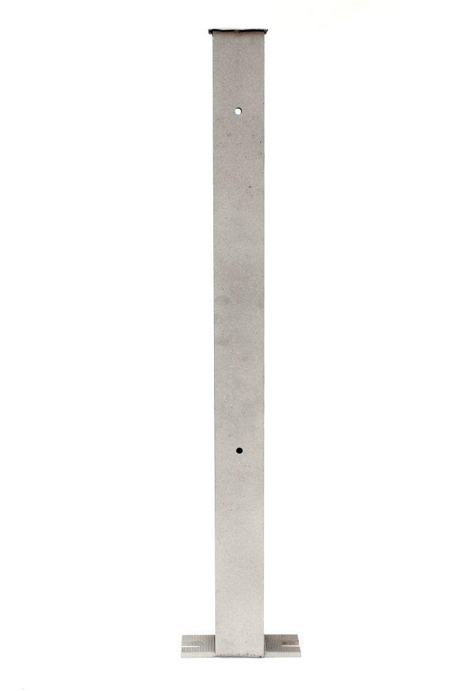 pfosten aus aluminium gartenzaun 80 cm zaunelemente aluzaun alu pfosten dandibo. Black Bedroom Furniture Sets. Home Design Ideas