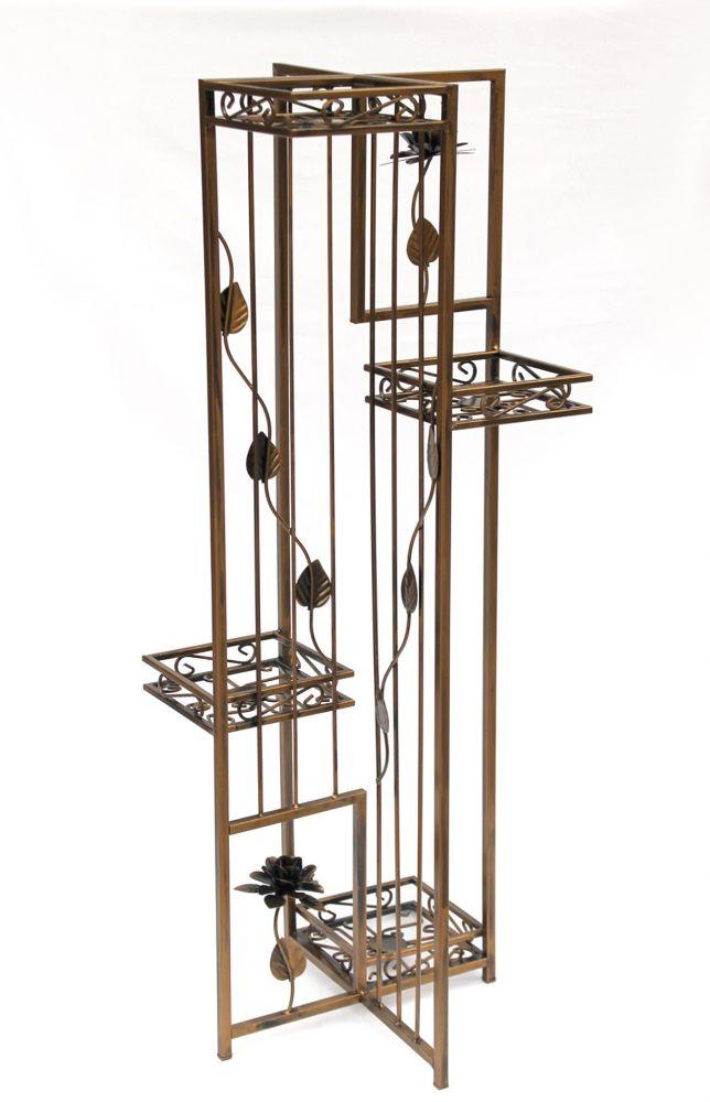 blumenregal blumentreppe sehr stabil und dekorativ aus. Black Bedroom Furniture Sets. Home Design Ideas