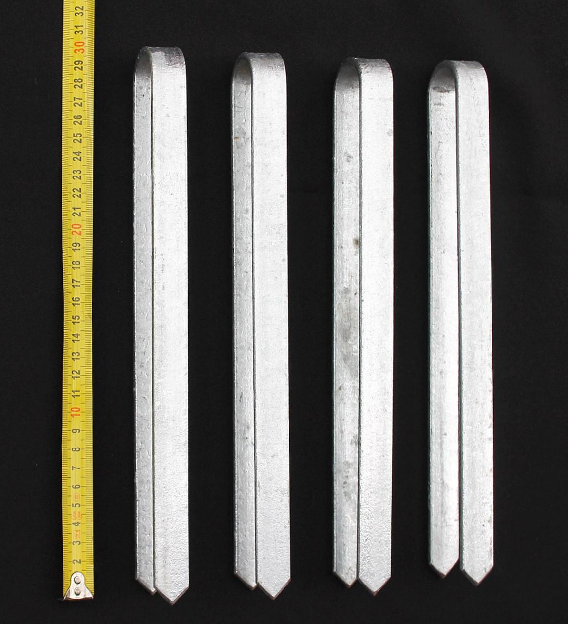 Bodenanker Erdanker feuerverzinkt Bodenhülse für Sarthe-WPC-Pfosten
