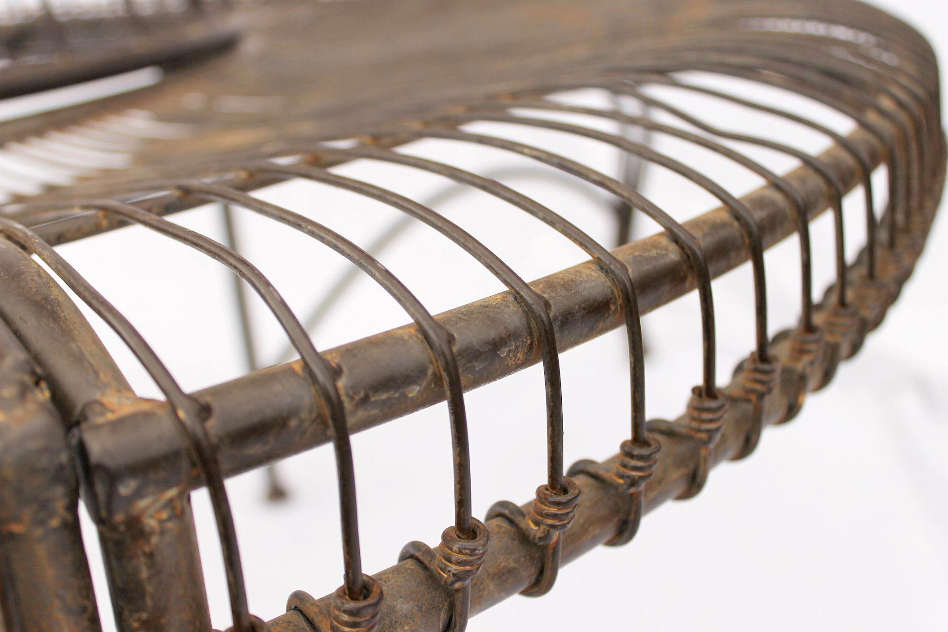 Panchina Rotonda : Panchina rotonda in metallo panca jc112404 da albero giardino d 150
