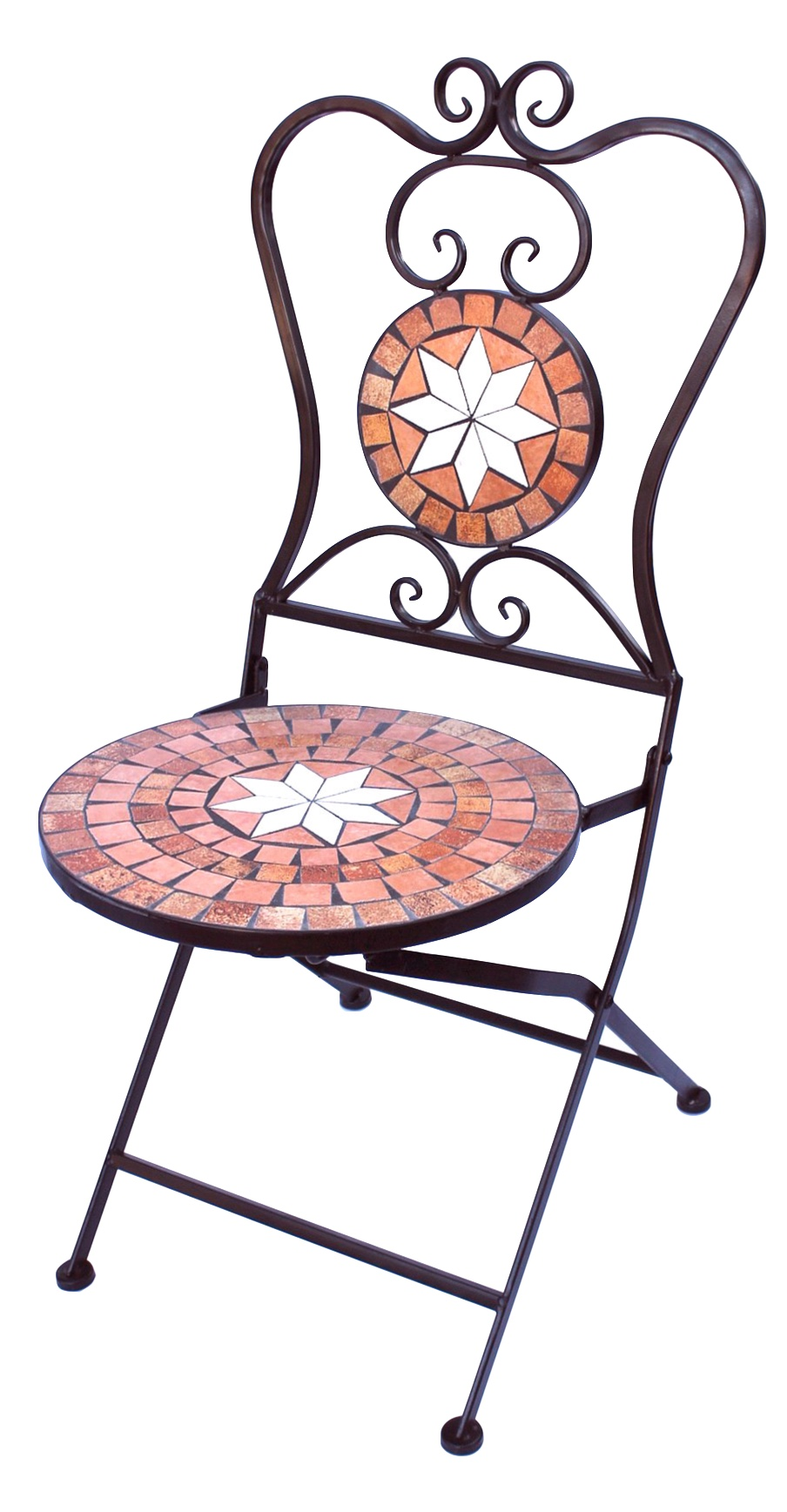 b ware stuhl mosaik merano 12002 gartenstuhl h 93 cm. Black Bedroom Furniture Sets. Home Design Ideas