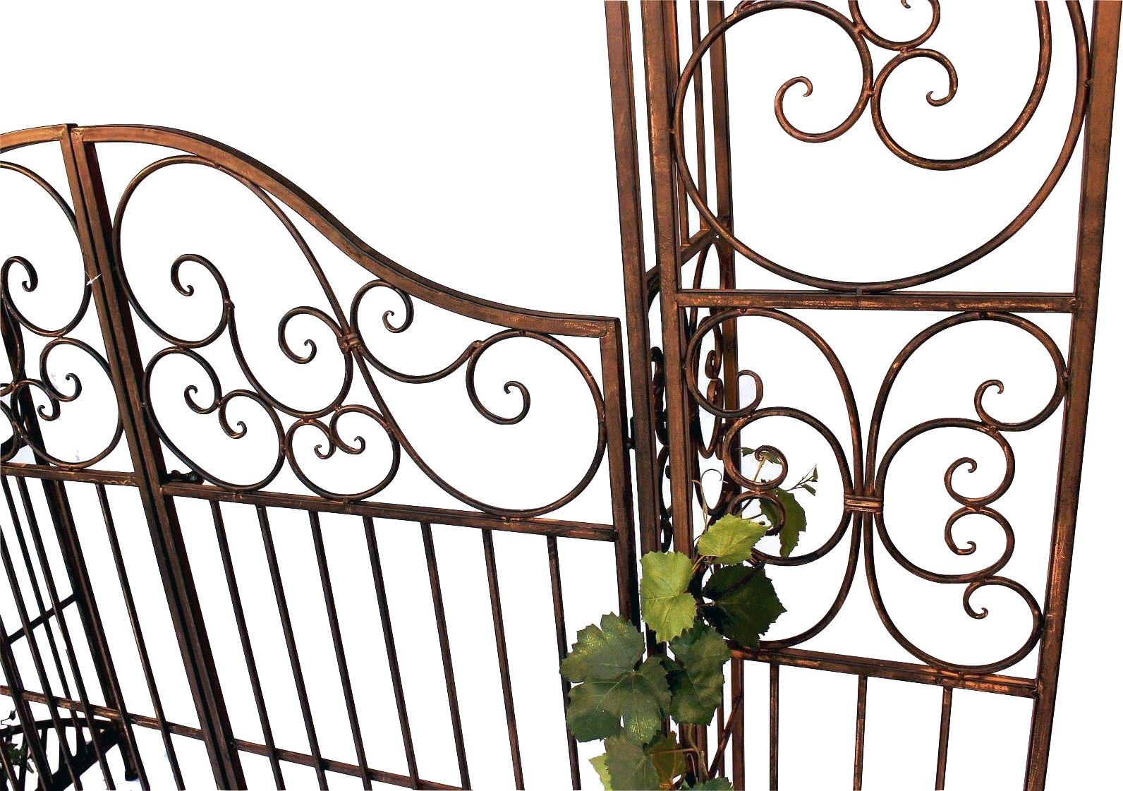 rosenbogen mit tor pforte 120853 aus metall schmiedeeisen. Black Bedroom Furniture Sets. Home Design Ideas