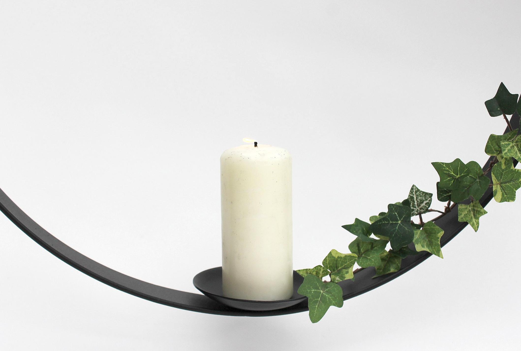 Kerzenhalter aus metall rund durchmesser cm kerzenständer