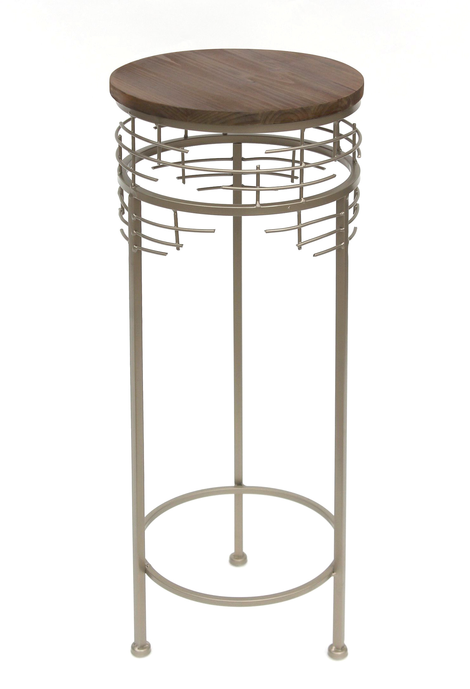 blumenhocker metall 21288 2er set blumenst nder rund. Black Bedroom Furniture Sets. Home Design Ideas
