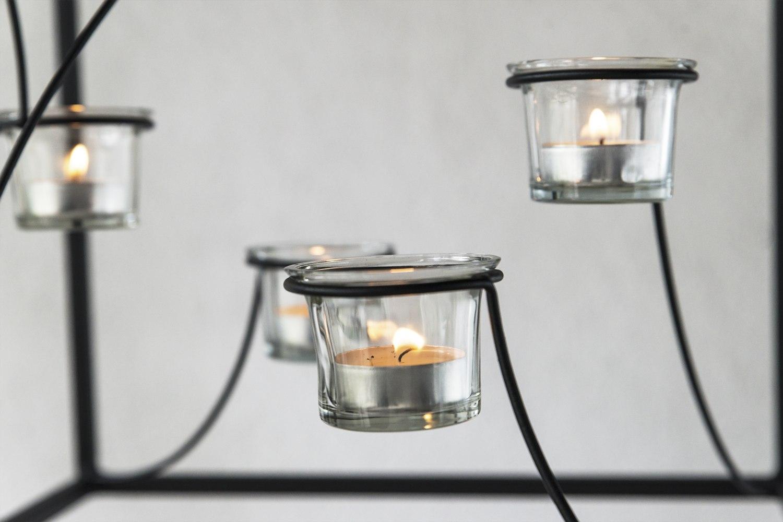 Kronleuchter Für Teelichter ~ Dandibo hängeleuchter kubus kronleuchter teelichthalter cm aus