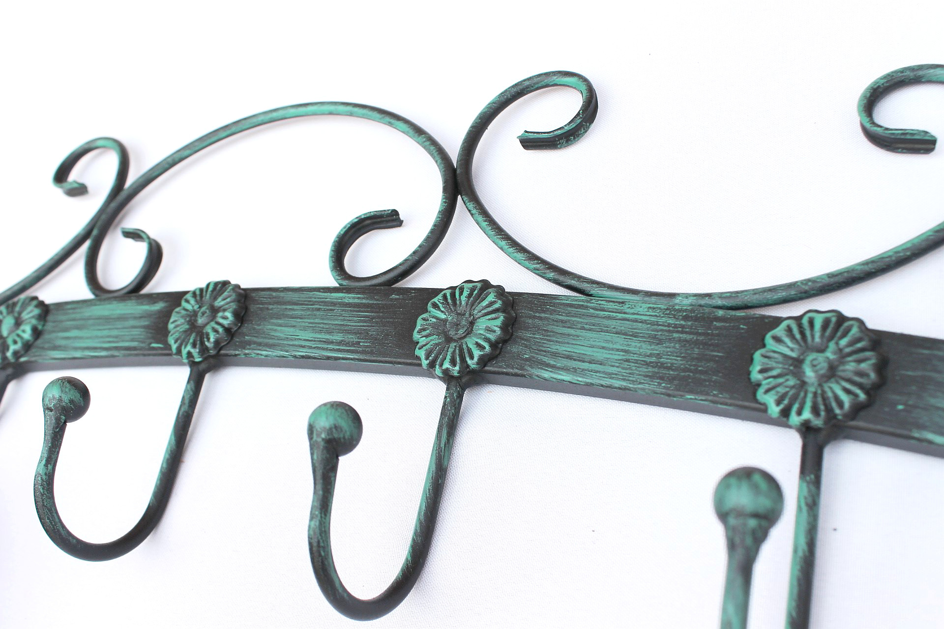 Garderobe wandhaken bo 93545 wandgarderobe hakenleiste for Buromobel aus metall