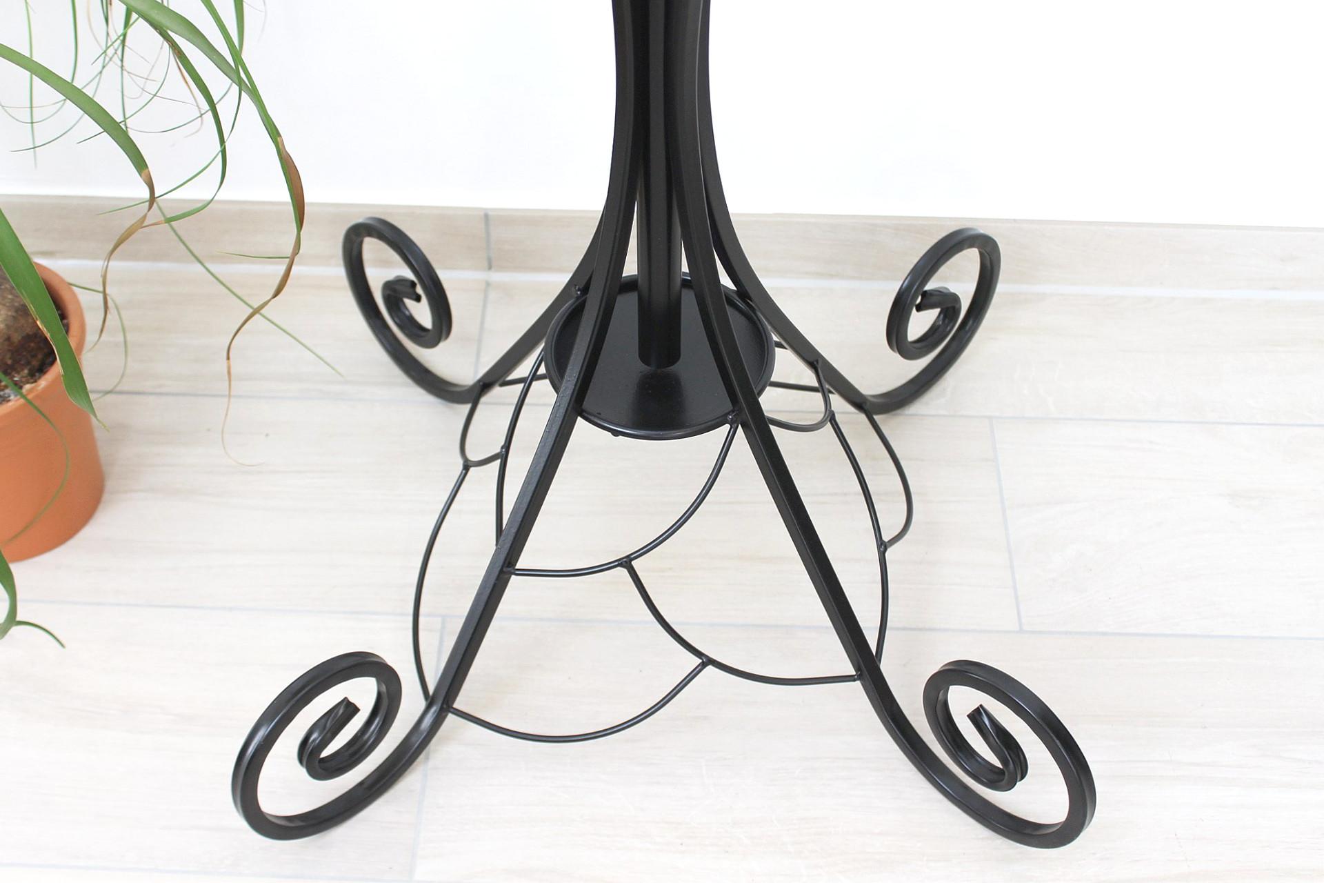 kleiderst nder schirmst nder wi001 metall 202 cm garderobe garderobenst nder ebay. Black Bedroom Furniture Sets. Home Design Ideas