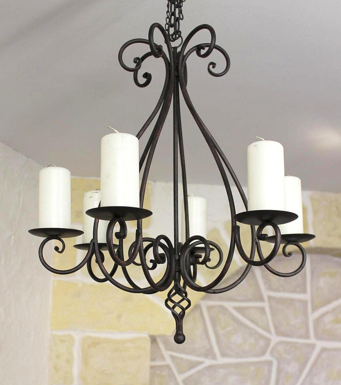 kronleuchter 95230 kerzenhalter h 60 cm kerzenst nder h ngeleuchter aus metall ebay. Black Bedroom Furniture Sets. Home Design Ideas