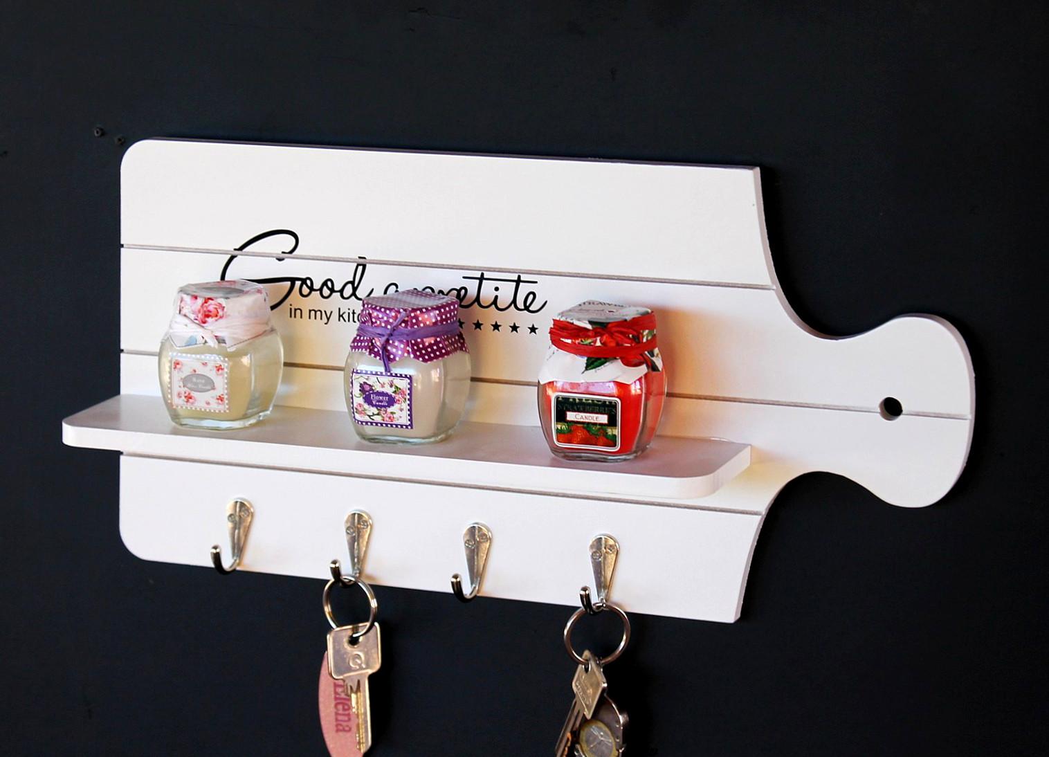 schl sselboard mit ablage 21254 schl sselkasten memoboard 40 cm schl sselleiste ebay. Black Bedroom Furniture Sets. Home Design Ideas