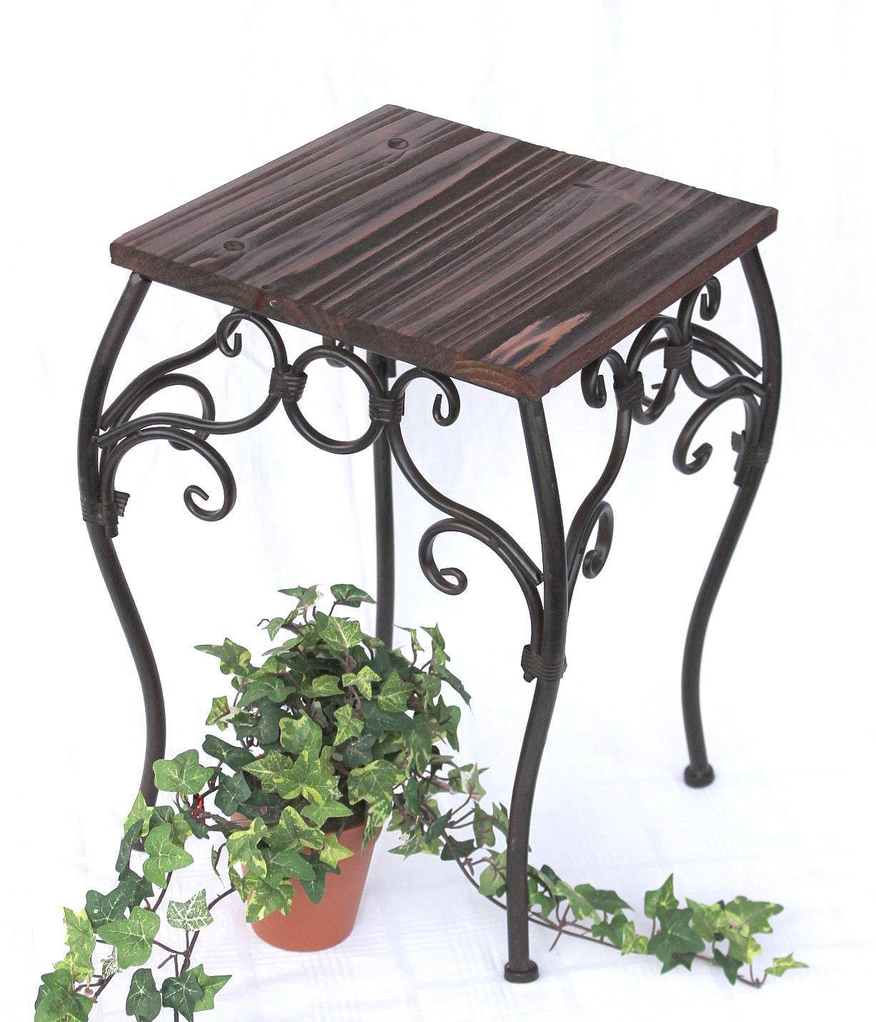 blumenhocker 2er set 12593 blumenst nder 34 43 cm eckig blumens ule tisch 4229223125901 ebay. Black Bedroom Furniture Sets. Home Design Ideas