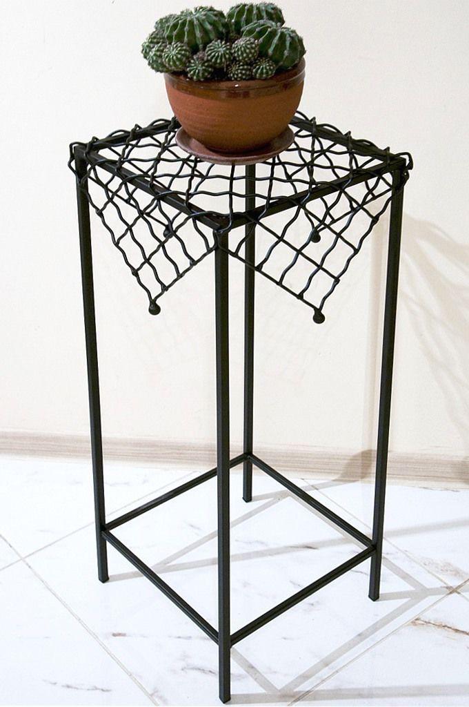 Designer blumens ule sevilla 75 cm blumenhocker aus metall for Beistelltisch 75 cm