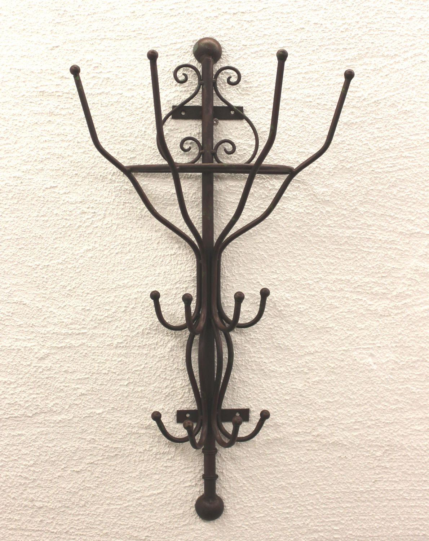 Garderobe halbrund 92123 wandgarderobe 70 cm kleiderhaken for Garderobe halbrund