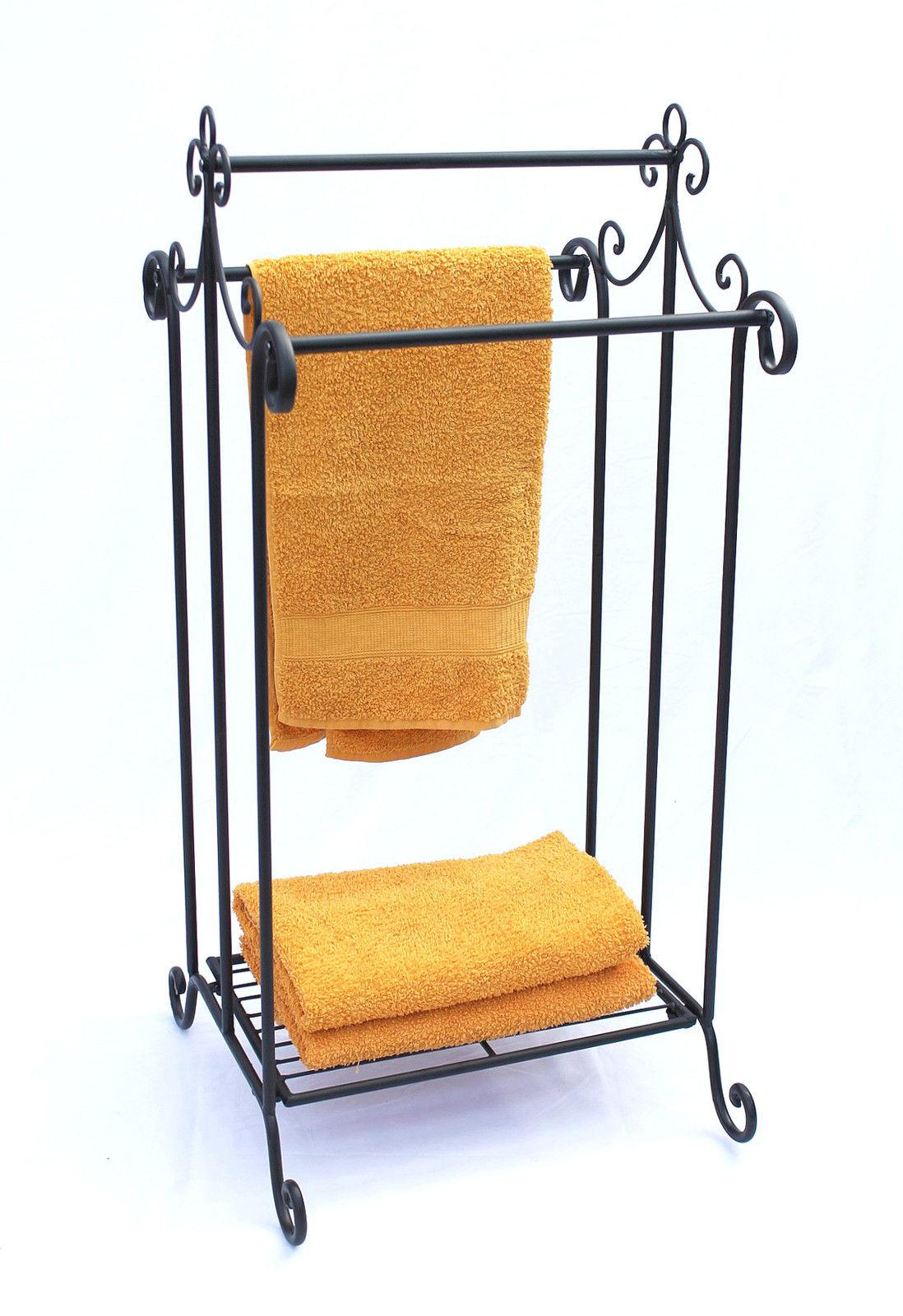 Handtuchhalter Stehend Antik Handtuchständer