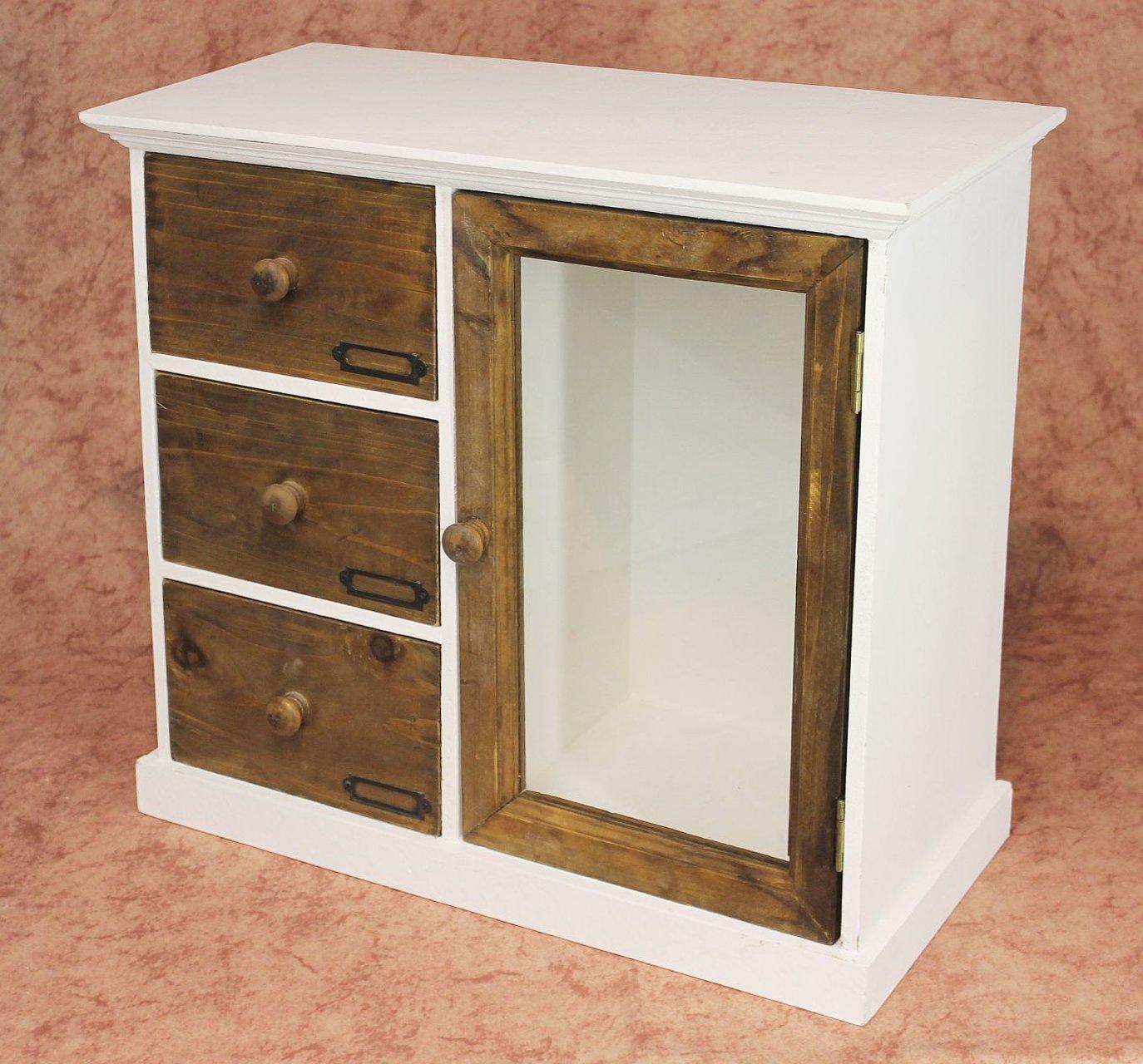 Schrank Minikommode 12019 Küchenschrank Regal 50 Cm Shabby