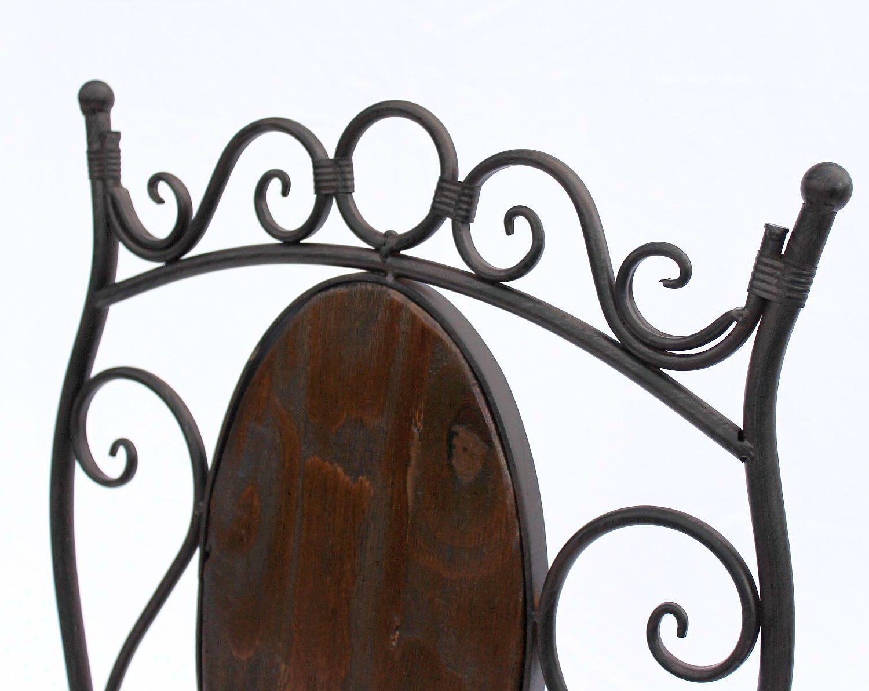 stuhl gartenstuhl hx12581 bistrostuhl 93 cm klappstuhl metall und holz ebay. Black Bedroom Furniture Sets. Home Design Ideas