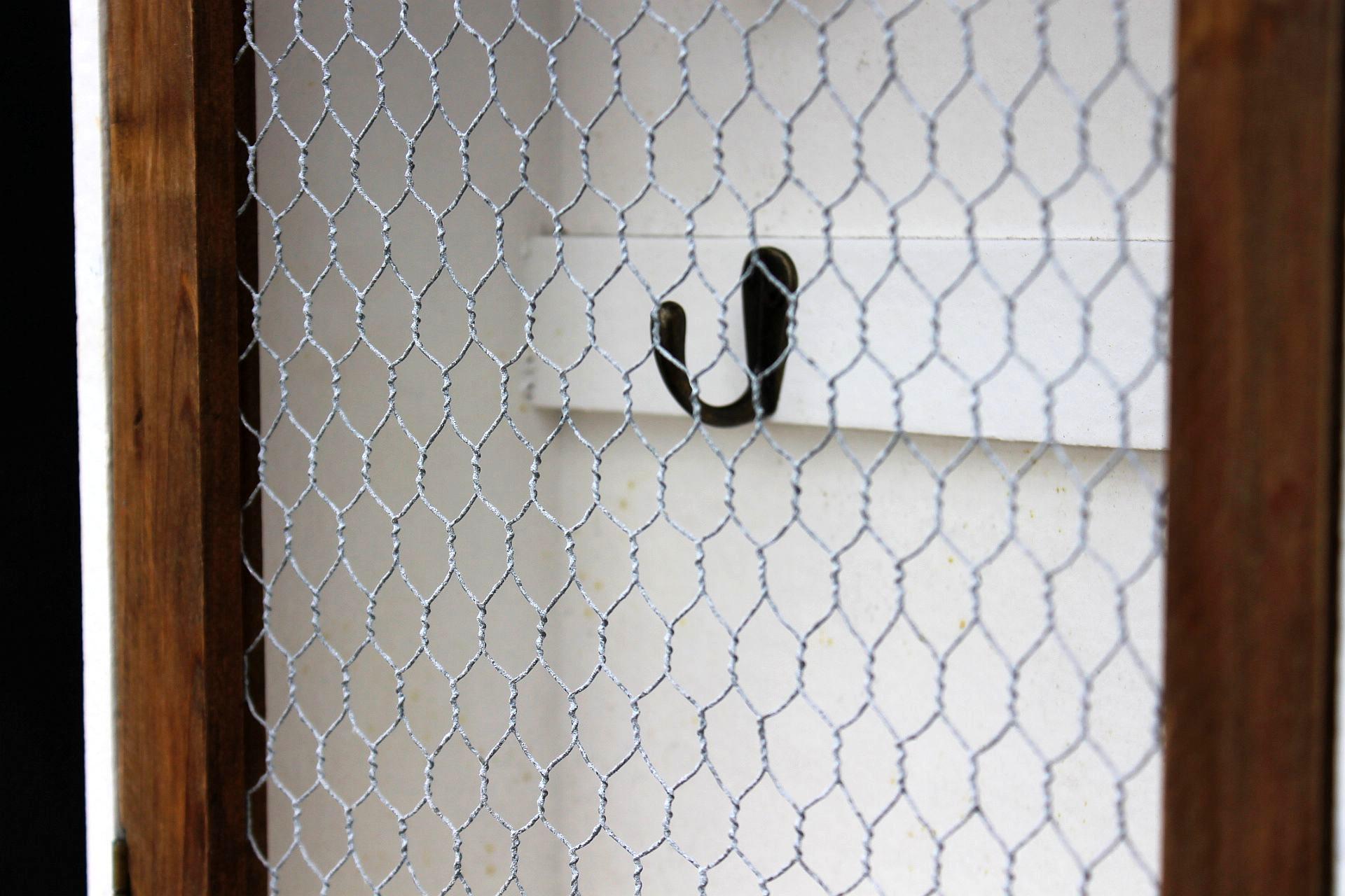 wandregal schl sselkasten 12045 regal 42 cm vintage shabby landhaus k chenregal ebay. Black Bedroom Furniture Sets. Home Design Ideas
